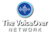 The VoiceOver Network Footer Logo