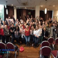 The VoiceeOver Network Above and Beyond