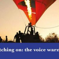 The VoiceeOver Network Voice Warmup