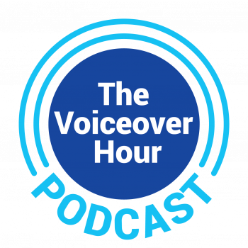 The VoiceOver Network Podcast Logo
